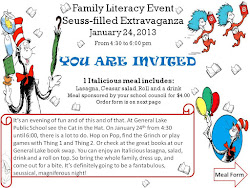 FAMILY LITERACY SEUSS-FILLED EXTRAVAGANZA