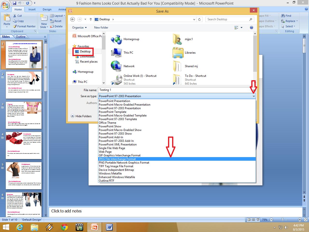 Как изменить формат файла на Виндовс 62