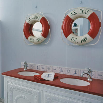 Decoracion actual de moda decoraci n marinera for Decoracion casa marinera