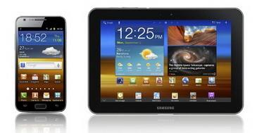 Galaxy S II LTE, Galaxy Tab 8.9 LTE with dual core 1.5 GHz CPU