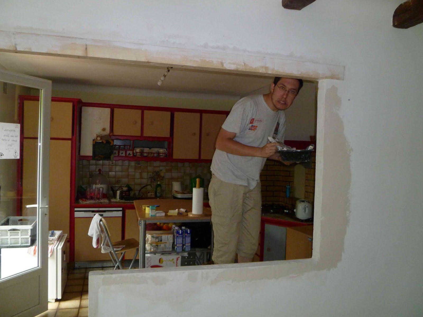 Maman mana maison travaux chapitre 13 ou entre pl tre - Passe plat mur porteur ...