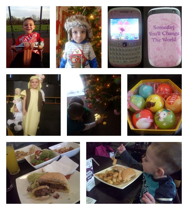 Yorkshire Blog, Mummy Blogging, Parent Blog, Handmade Burger Company, Burger, Chicken, Baubles, Shepherd, Santa, Christmas, Park, Phone