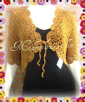 Bolero GOLDEN en hilo