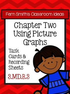 Fern Smith's Classroom Ideas Using Picture Graphs Task Cards, Recording Sheets and Answer Keys at TeacherspayTeachers.