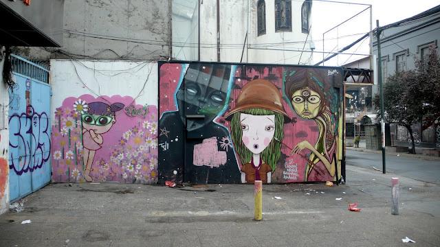 street art santiago de chile patronato graffiti arte callejero