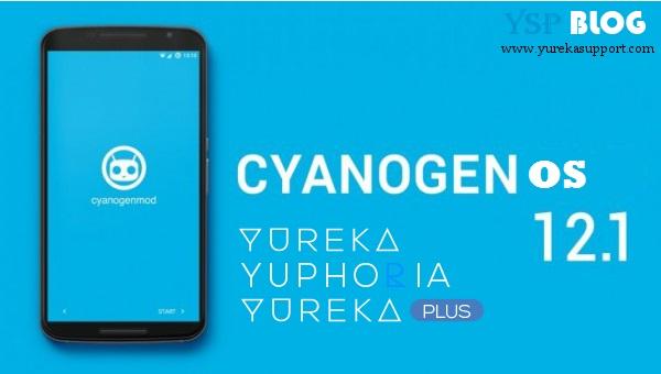 Cyanogen OS 12.1 on YU