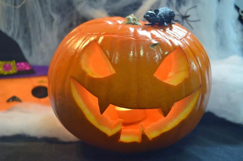 El rinc n de la mariposa como decorar una calabaza para halloween - Decorar una calabaza de halloween ...