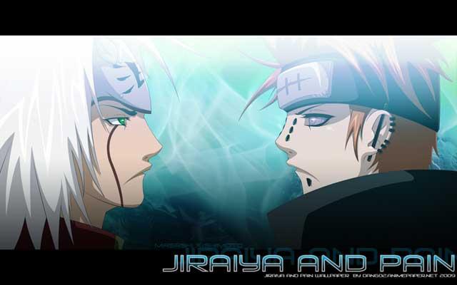 Jiraya and Pain