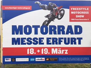 Motorrad-Ausstellung in Erfurt