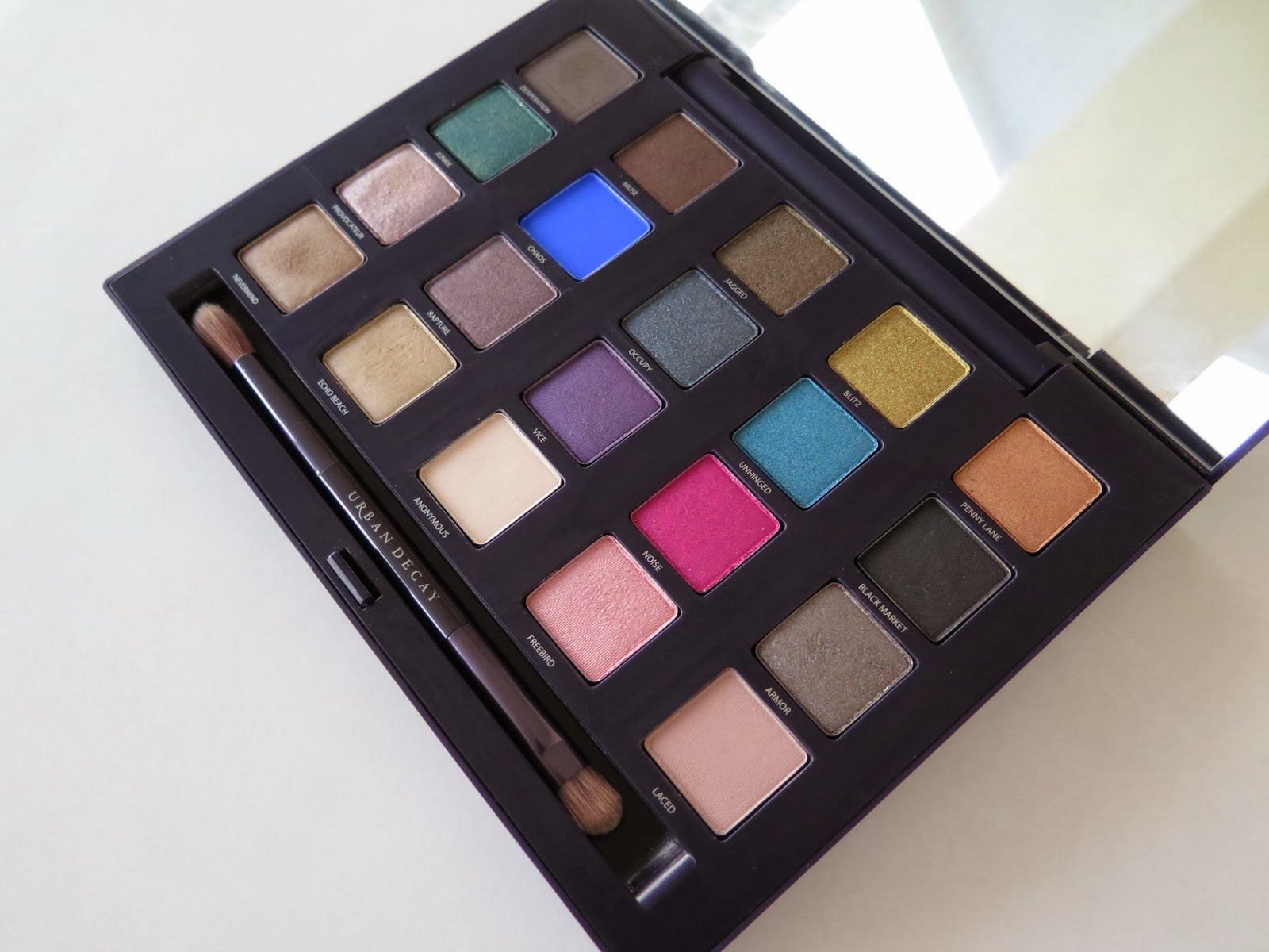 urban decay vice palette, Michelle Louise Love