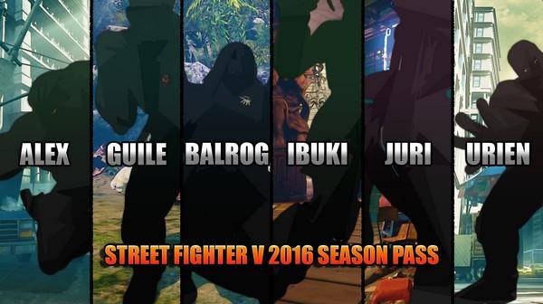 Street Fighter 5 2016 Season Pass PC Game Free Download