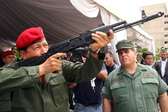 Venezuela: ley prohíbe venta de armas y municiones