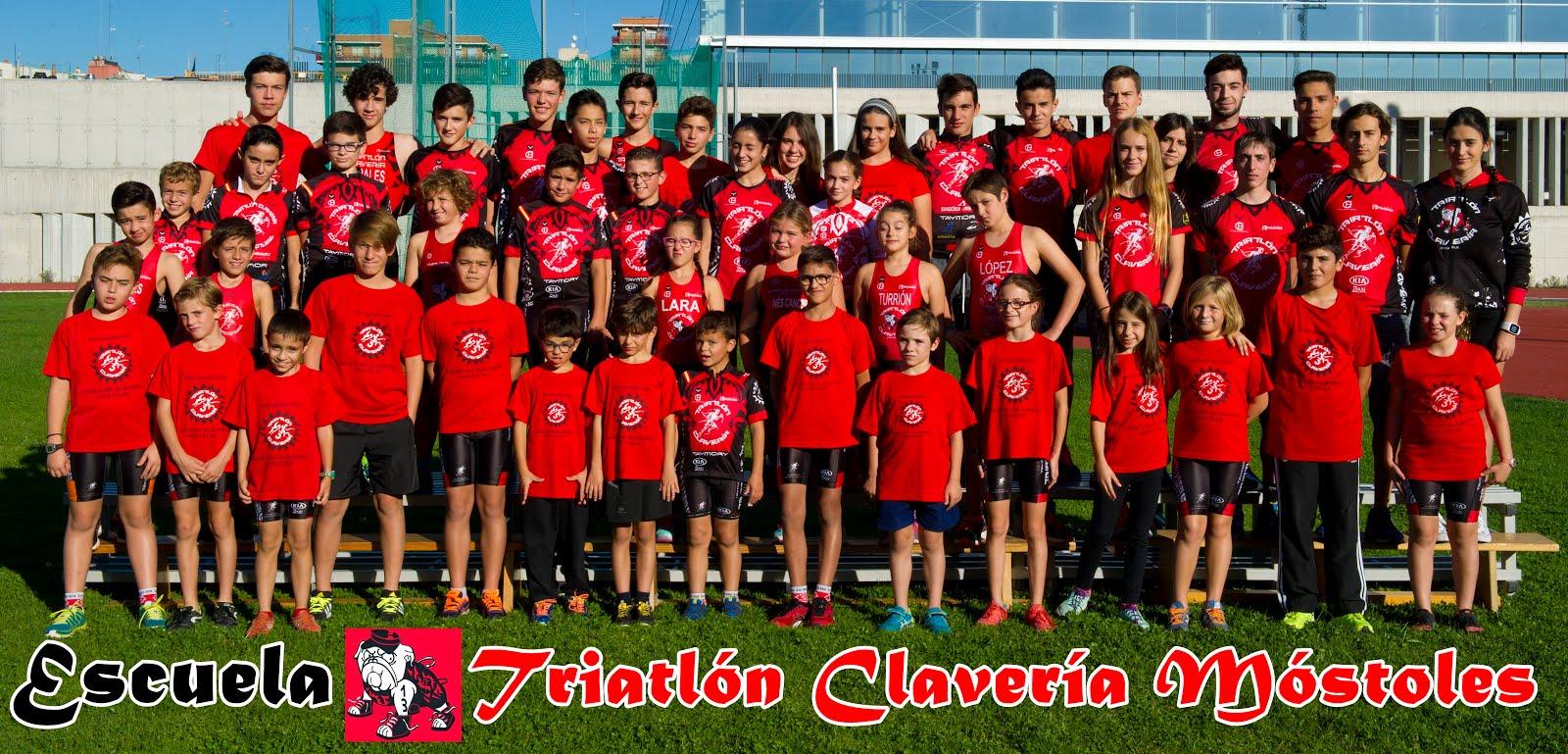 Escuela triatlón Clavería