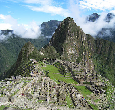 Machu Picchu. Siete nuevas Maravillas del Mundo