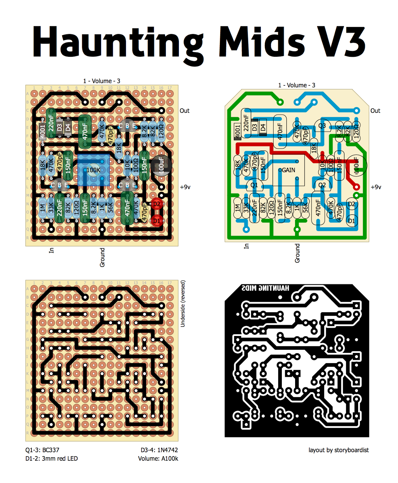 Haunting%2BMids%2BV3 perf and pcb effects layouts  at metegol.co