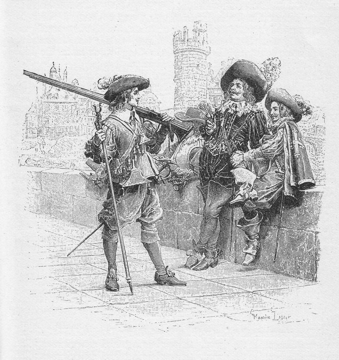 the alexandre dumas novel the three musketeers about the dartagnan Sometimes it's hard to keep track of what d artagnan is up to during the three musketeers luckily, we've got you covered  the three musketeers by alexandre dumas .