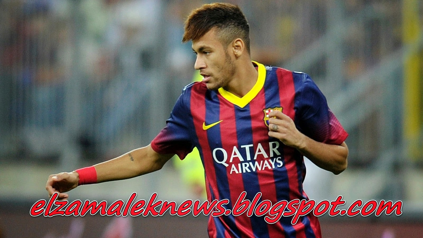 Nymar Brazilian striker of Barcelona