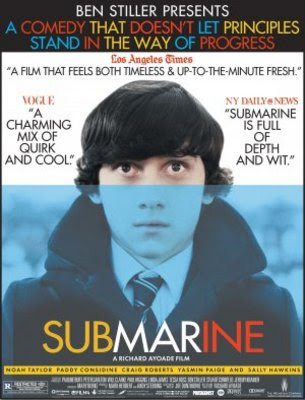 Watch Submarine 2010 BRRip Hollywood Movie Online | Submarine 2010 Hollywood Movie Poster