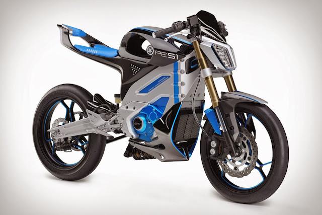 Yamaha PES1 | Concept Motorcycle | Yamaha PES1 specs | Yamaha PES1 Prototype | Yamaha Smart Power Module | Yamaha Electric Motorcycle