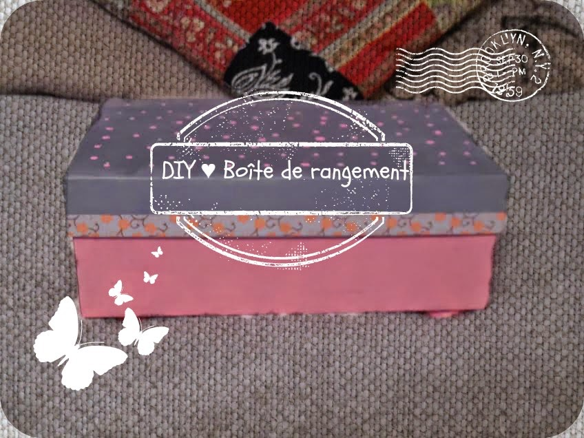 diy bo te de rangement. Black Bedroom Furniture Sets. Home Design Ideas