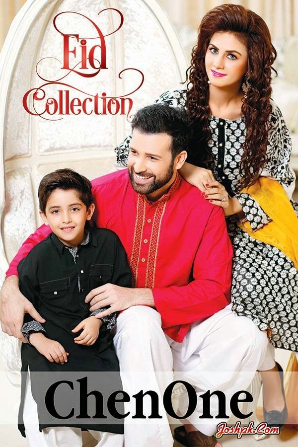 Chen One Eid Ul Fitr Wear Collection 2014 For Women Boys & Kids