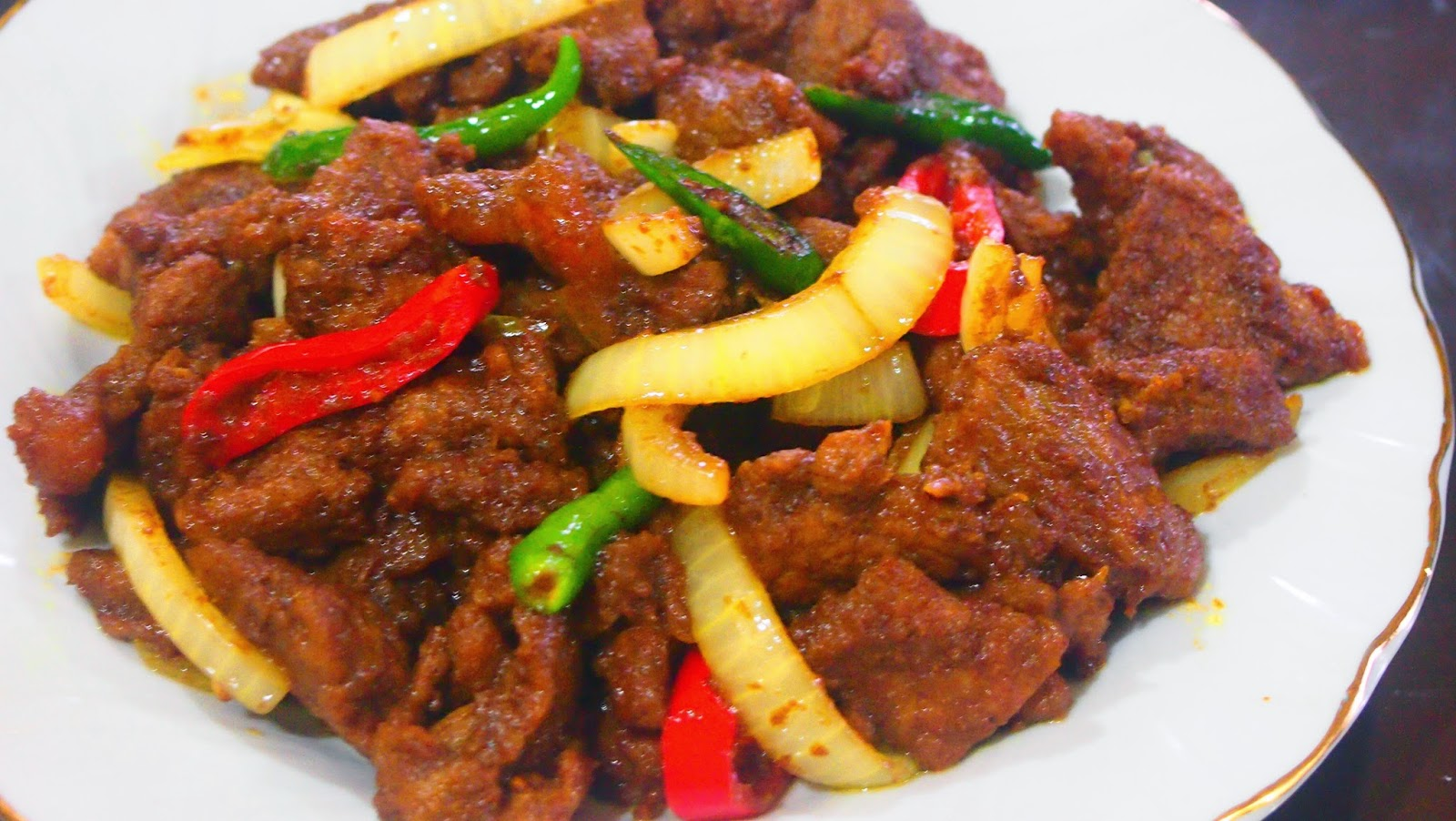 Image result for Daging Goreng Kunyit
