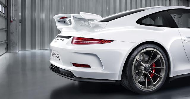 Detalle Porsche 911 GT3 2013, parte trasera