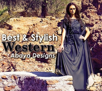 Best And Stylish Western Abaya Designs
