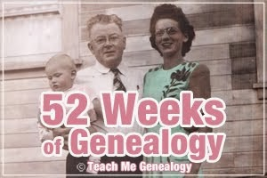 52 Weeks of Genealogy