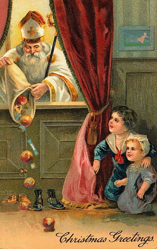 ... in the late 1500s there was another name change–Father Christmas