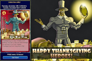 Happy Thanksgiving Heroes from Superhero City