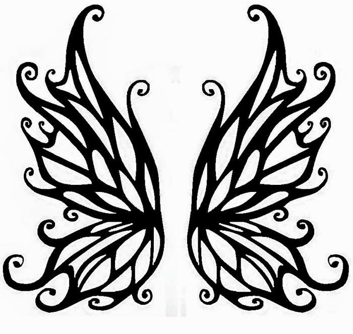 Remarkable image in free printable fairy wings