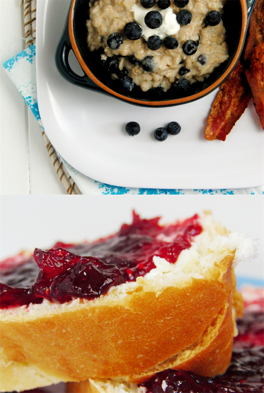 Blueberry cranberry jam