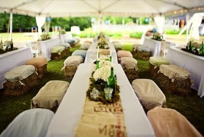 Country Rustic Wedding Decor