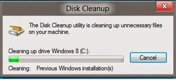 Cara Menghapus Folder Windows.old