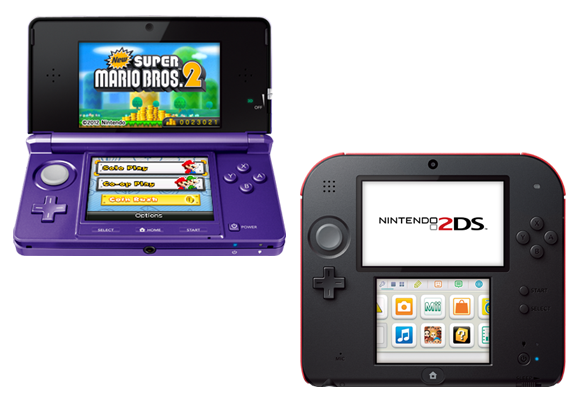 Nintendo 3DS and 2DS