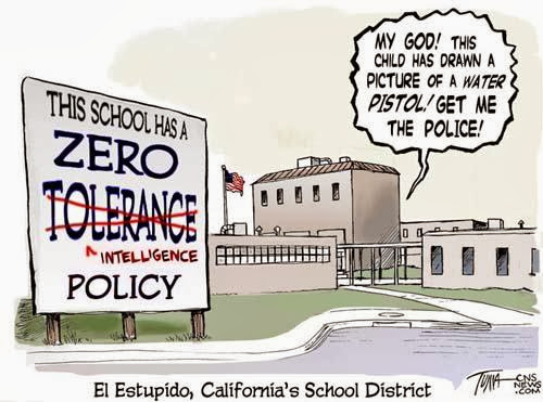 zero tolerance in education essay The pros and cons of zero tolerance policies in unnecessarily preventing children from getting a public education and causing many children to face legal.
