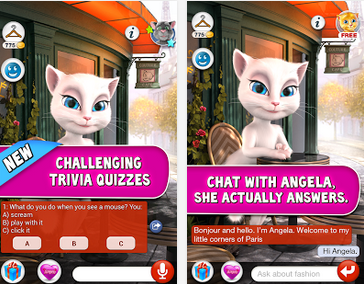 Talking Angela Free Android Download App From Google Play Store