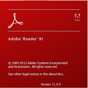 acrobat reader version