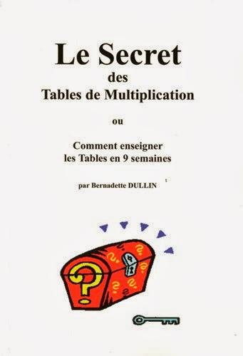 Le secret des tables de multiplication bien apprendre - Comment apprendre les tables de multiplication par coeur ...