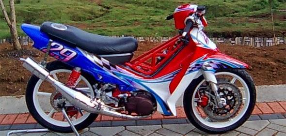 Modifikasi Motor Yamaha F1zr Drag