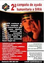 Campaña de ayuda humanitaria a Siria