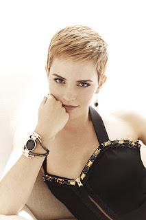 Emma Watson hairstyle as pixie style