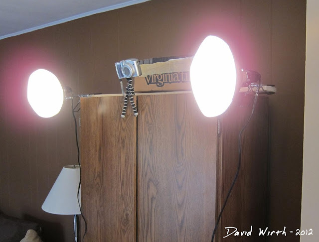 photo booth camera, light, lighting, how to, mount, setup