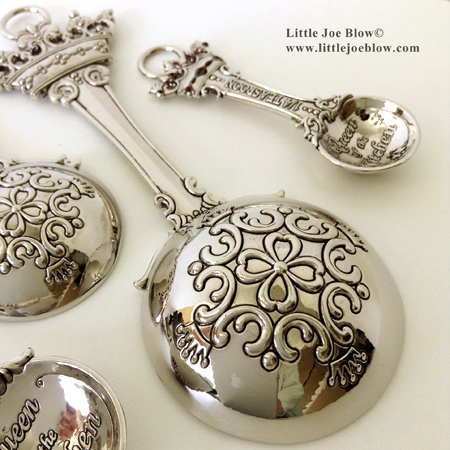 queen of the kitchen measuring spoons sold by little joe blow photo 2