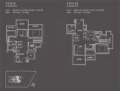 26 Newton 2 bedrooms floor plans