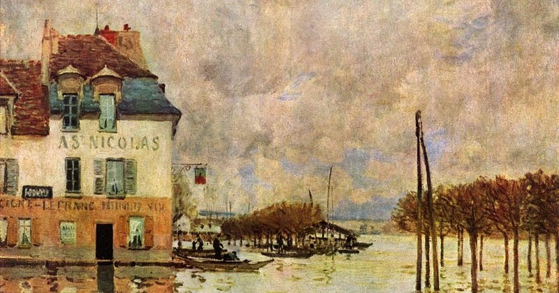 Inreland alfred sisley ou l 39 enchantement simple - Point p port marly ...