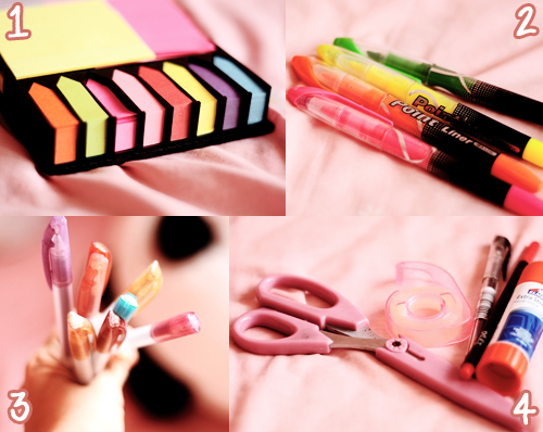 DIY School Supplies Notebook Tumblr