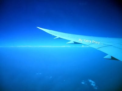 Air India dreamliner - Views from the airplane window
