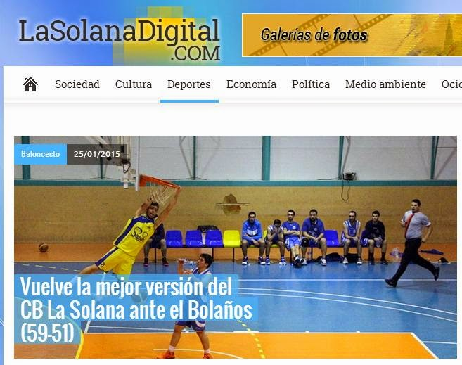 Basket LaSolanaDigital